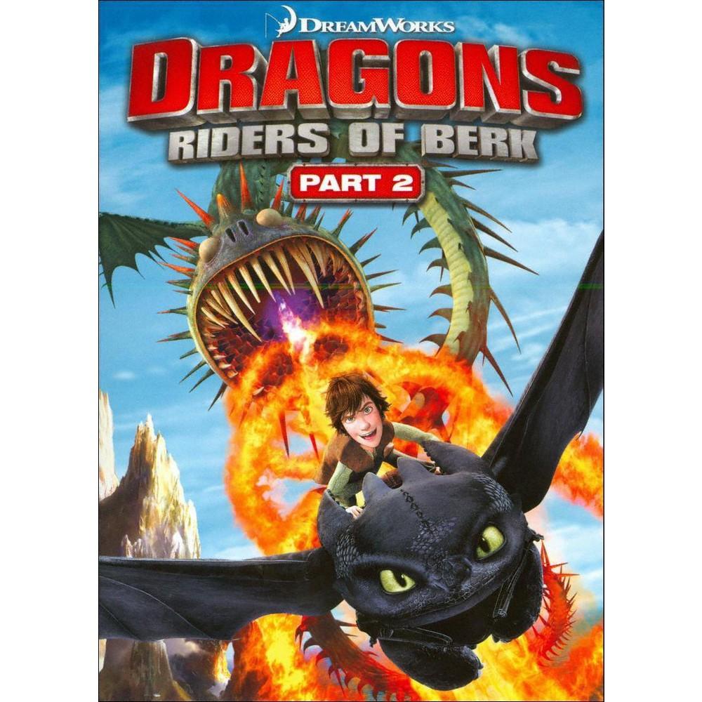Dragons Riders Of Berk Part 2 Dvd