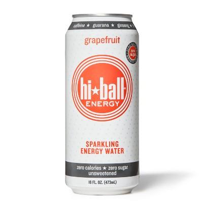 Hi-Ball Energy Grapefruit Sparkling Water - 16oz