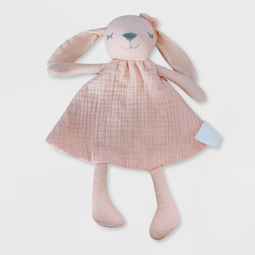 Small Security Blanket Cloud Island 8482 Pink Bunny