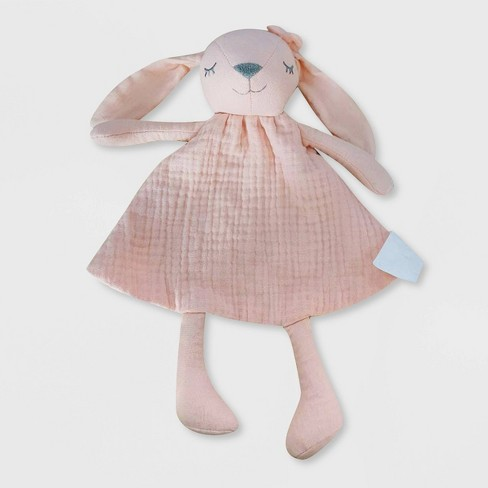Small Security Blanket - Cloud Island™ Pink Bunny - image 1 of 1