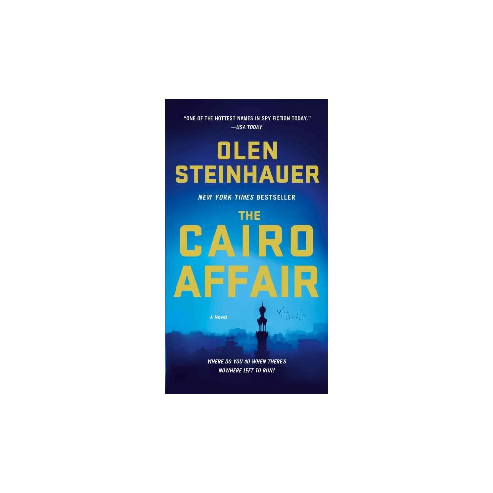 The Cairo Affair - by Olen Steinhauer (Paperback) From the author of New York Times bestseller The Tourist... Three players. One city. A whole world of political games in which allegiances are never clear, and outcomes are never guaranteed... Sophie Kohl confesses to her husband, a mid-level American diplomat in Hungary, that she had an affair while they were in Cairo. Minutes later, he is shot and killed. Stan Bertolli, a Cairo-based Cia agent, has fielded his share of midnight calls. But his heart skips a beat when, this time, he hears the voice of the only woman he ever truly loved ask why her husband has been assassinated. Omar Halawi has worked in Egyptian intelligence for years, and he knows how to play the game. But the murder of a diplomat in Hungary has ripples all the way to Cairo, and Omar must follow the fallout wherever it leads... THE Cairo Affair is  elaborate, Sophisticated. -THE New York Times  stunning. -Booklist (Starred Review, A Best Book OF THE Year)  damned Good. -Seattle Times This edition of the book is the deluxe, tall rack mass market paperback.