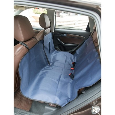 Pet Car Backseat Protector Waterproof Seat Cover Liner Slip Resistant Scratch-proof Hammock