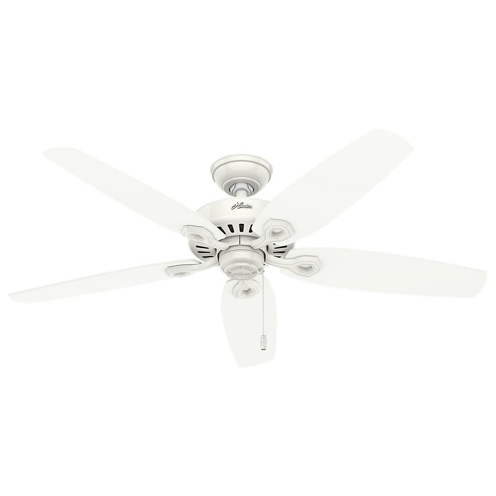 52 Builder Elite Damp Snow Ceiling Fan White - Hunter Fan