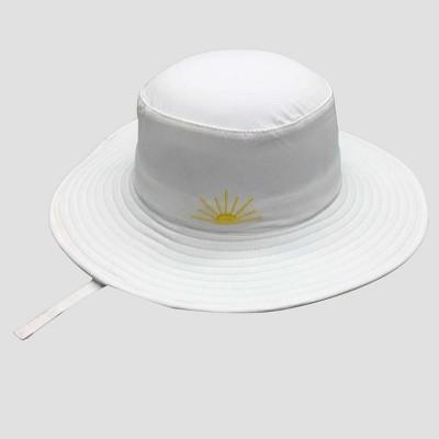 Baby Floppy Sun Hat - Cat & Jack™ White 12-24M
