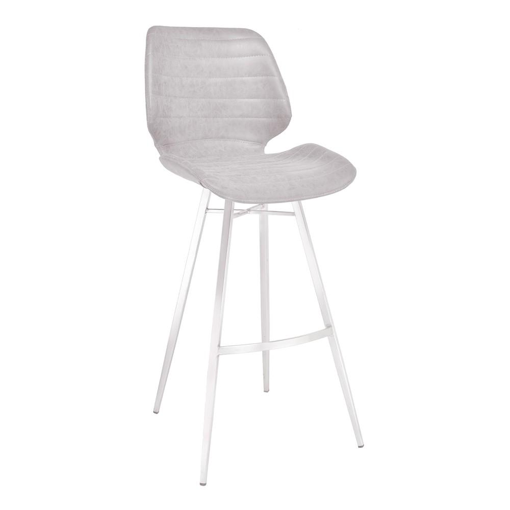 Miraculous 26 Armen Living Valor Counter Height Barstool Vintage Light Gray Dailytribune Chair Design For Home Dailytribuneorg