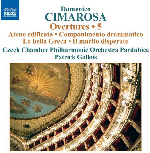 Czech Chamber Philha - Cimarosa:Overtures Vol 5 (CD) - image 1 of 1