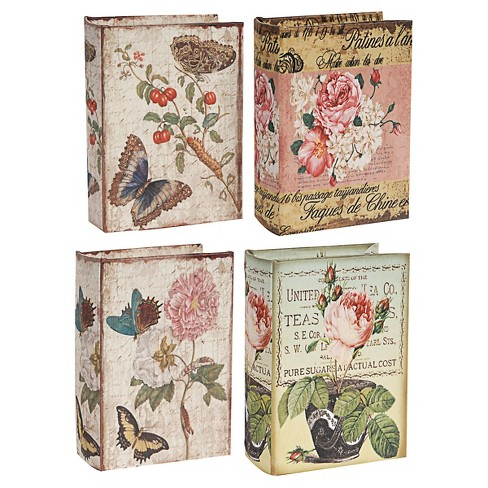 Book Boxes - Set of 4 - A&B Home - image 1 of 1