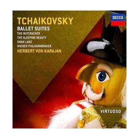Tchaikovsky - Virtuoso: Tchaikovsky- Ballet Suites/Nutcracker/Sleeping Beauty/Swan (CD) - image 1 of 1
