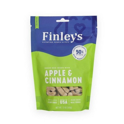 Finley's Apple and Cinnamon Dog Treats