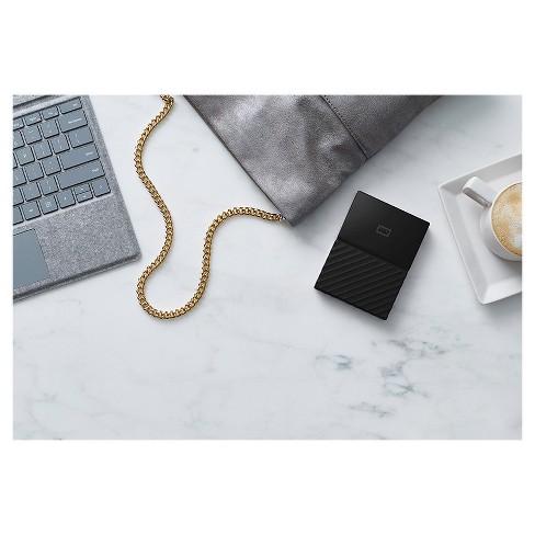 WD 2TB Black USB 3.0 My Passport Portable External Hard Drive - Black (WDBYFT0020BBK-WESN)