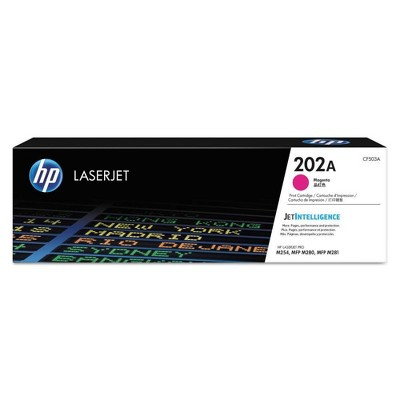 HP 202A LaserJet Toner Cartridge - Magenta (CF503A)
