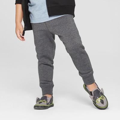 Toddler Boys' Jogger Pants - Cat & Jack™ Charcoal 2T