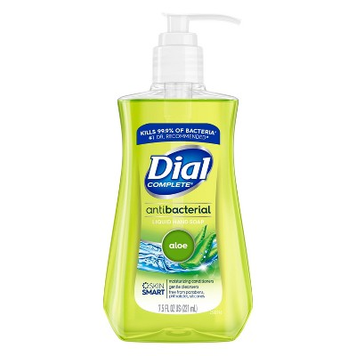 Dial Antibacterial Aloe Liquid Hand Soap - 7.5oz