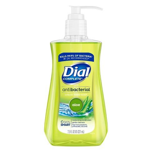 Dial Antibacterial Aloe Liquid Hand Soap - 7.5oz - image 1 of 4