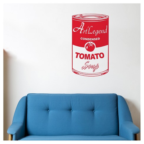 Tomato Soup Wall Decal - Red - image 1 of 1