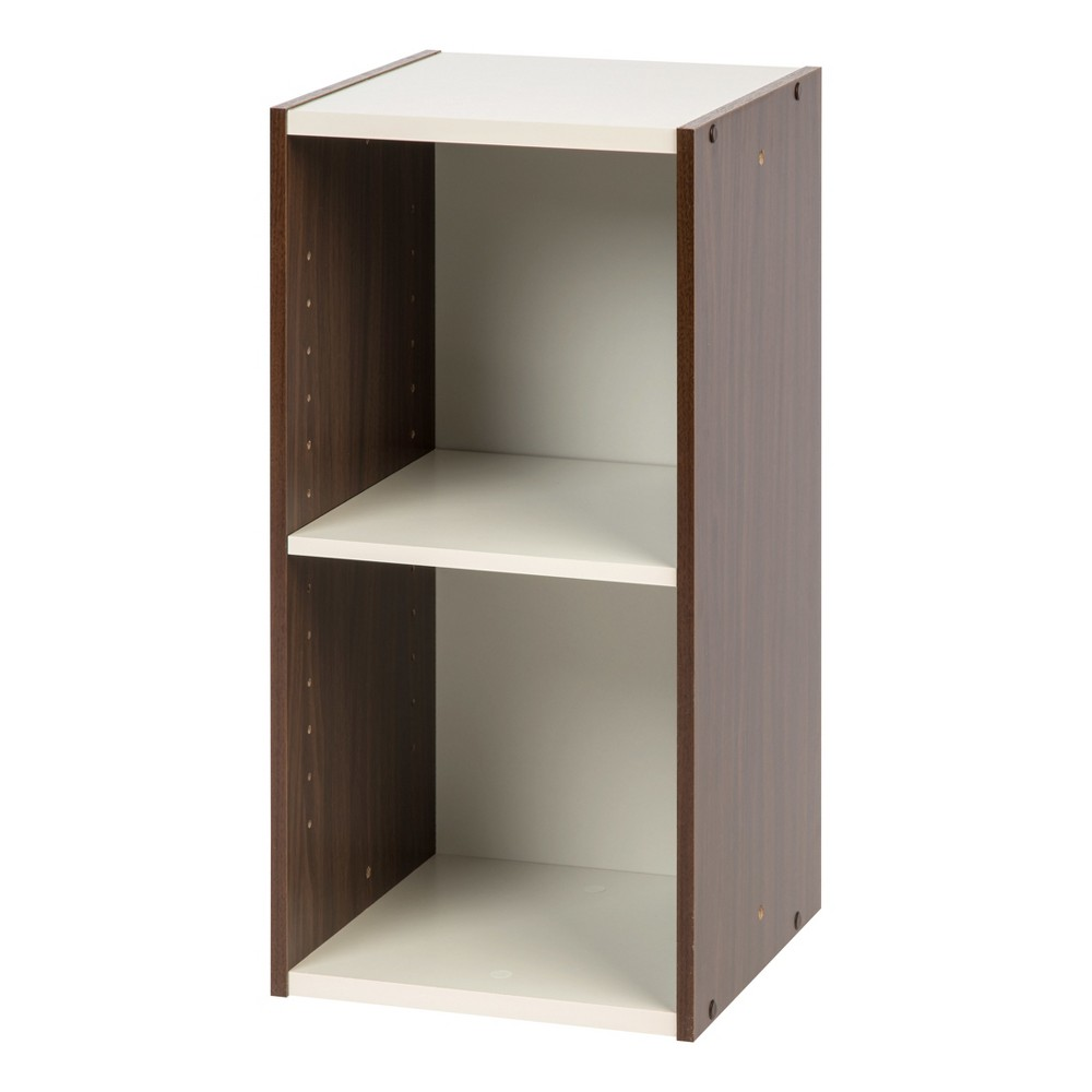 Iris 23 Slim Storage Shelf - Walnut Brown