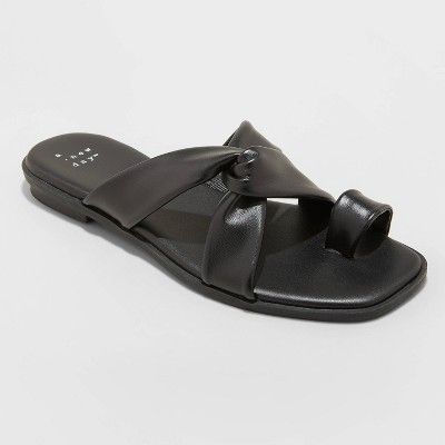Women's Jessa Toe Loop Sandals - A New Day™