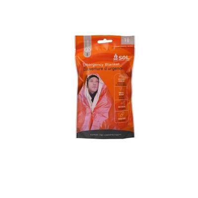 Survive Outdoors Emergency Blanket - Orange