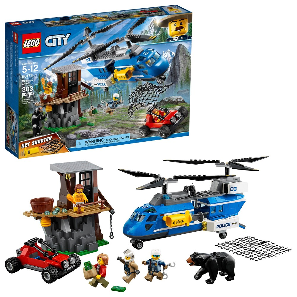 Lego City Police Mountain Headquarters 60174 From 7199 Nextag 7744 Arrest 60173