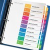 Avery 11 x 8-1/2 Ready Index Contemporary Contents Divider, 1-10- Multicolor (6 Sets pk) - image 3 of 4