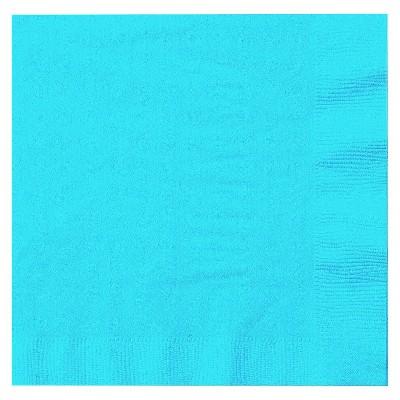 50ct Turquoise Dinner Napkin