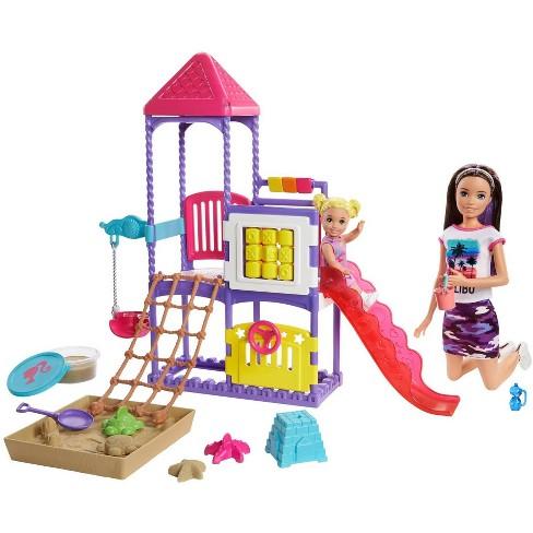 Barbie Skipper Babysitters Inc. Climb 'N Explore Playground Playset - image 1 of 4