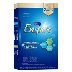 Enfamil Enspire Infant Formula Powder Refill Box 30oz