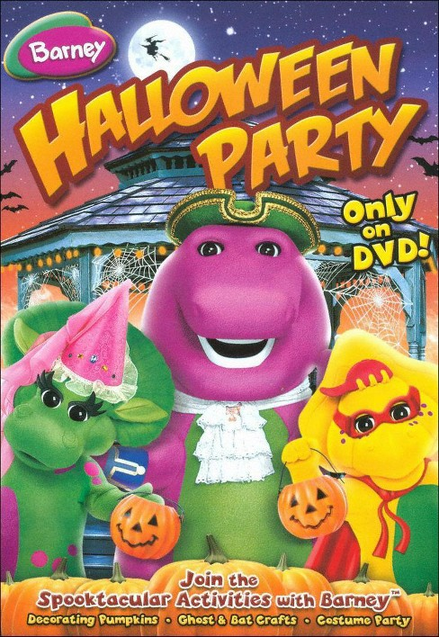 Barney: Barney's Halloween Party (dvd_video) - image 1 of 1