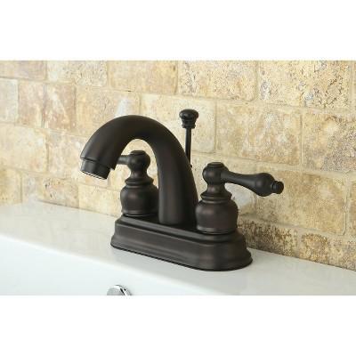 Restoration Classic Bathroom Faucet Oil Rubbed Bronze - Kingston Brass