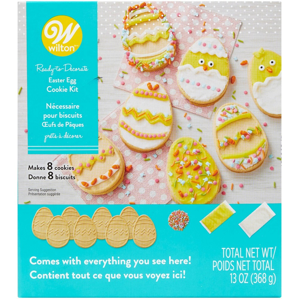Image of Wilton Egg Cookie Pre-Made Kit