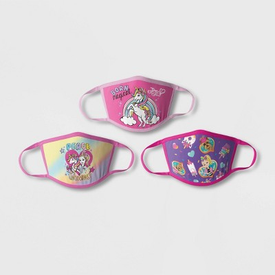 Kids' 3pk JoJo Siwa Face Mask