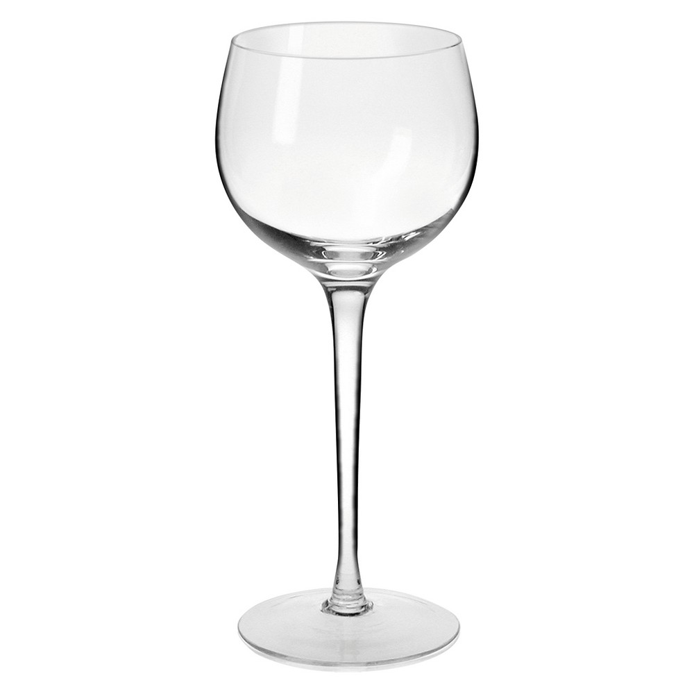 Image of Krosno Ava Wine Glasses Handmade 10oz. Set of 4, Clear
