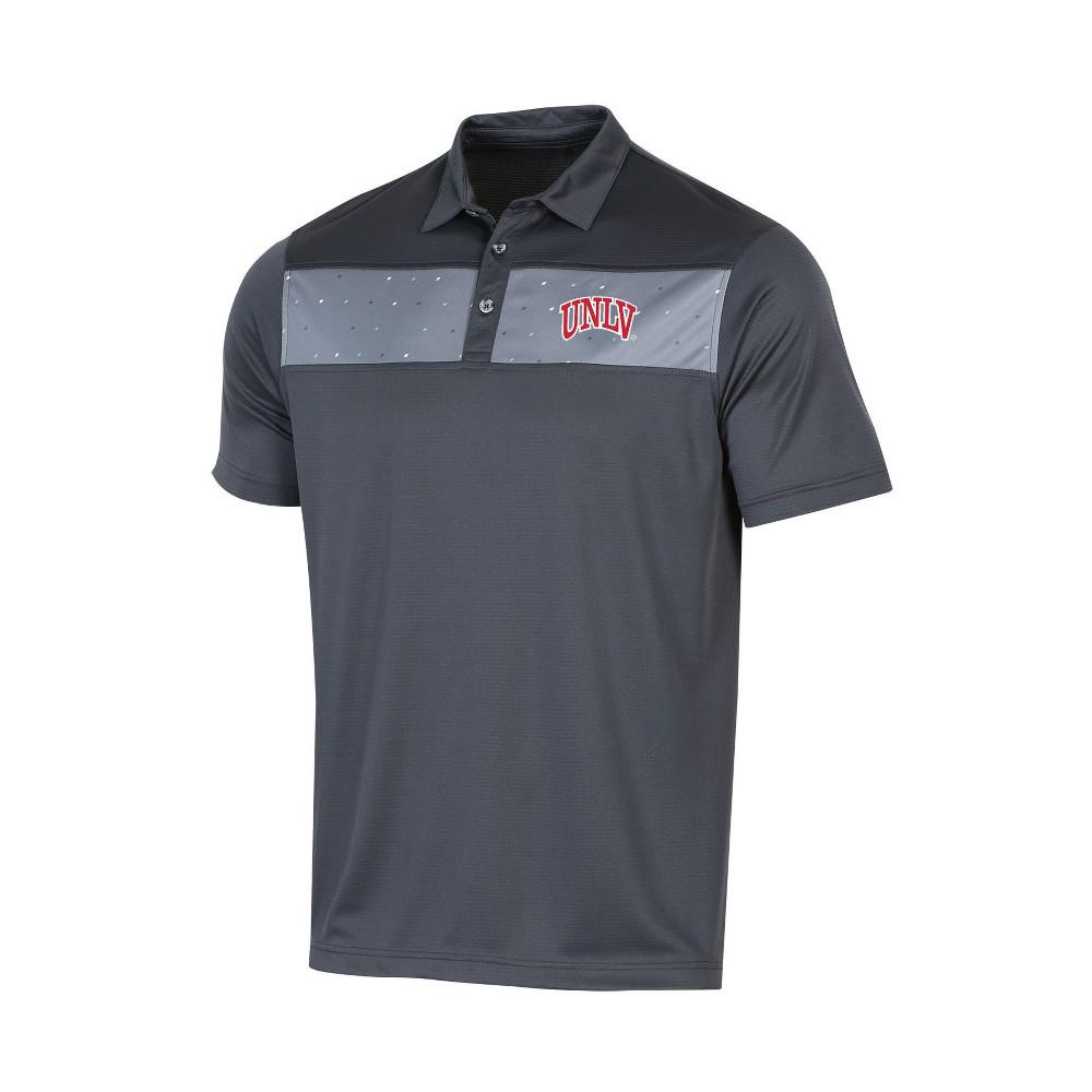 NCAA Men's Short Sleeve Polo Shirt Unlv Rebels - Xxl, Multicolored