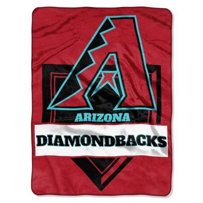 MLB Arizona Diamondbacks Home Plate Raschel Throw Blanket