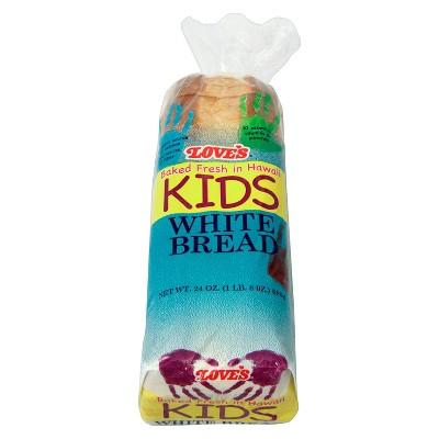Love's Kids White Bread - 24oz