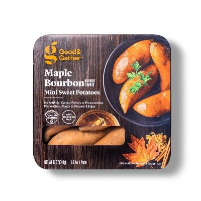 Maple Bourbon Mini Sweet Potatoes - 12oz - Good & Gather™
