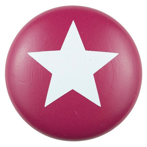 Sumner Street Home Hardware 4pc Star Painted Knob Red - image 1 of 3