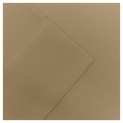 Queen Micro Splendor Ultra Soft Wrinkle Free Microfiber Sheet Set Khaki