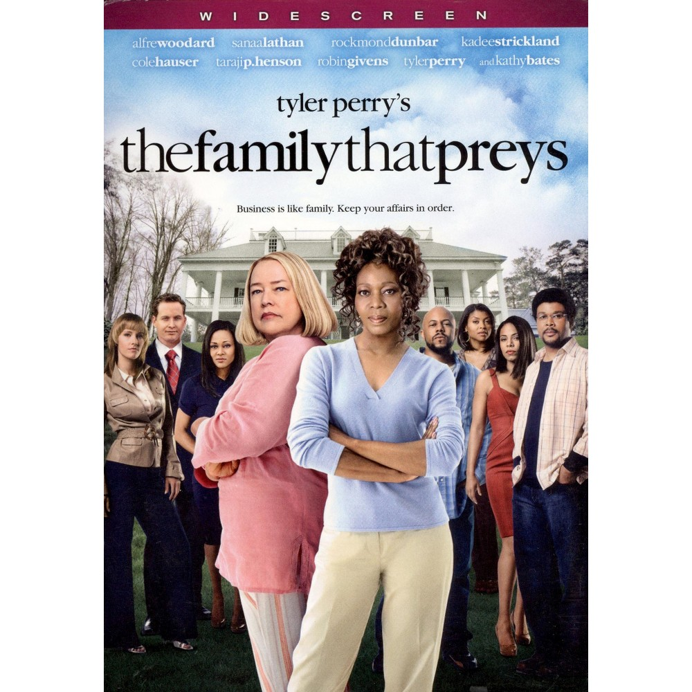 The Tyler Perry's The Family That Preys (WS) (dvd_video)