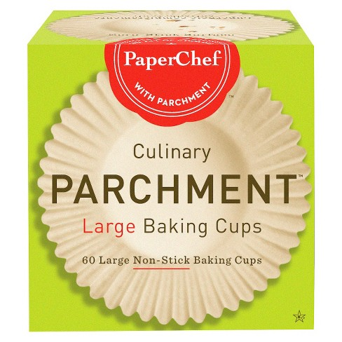PaperChef® Large Baking Parchment Cups - 60ct - image 1 of 2