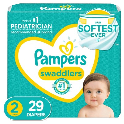 Pampers Swaddlers Disposable Diapers - Size 2 - 29ct