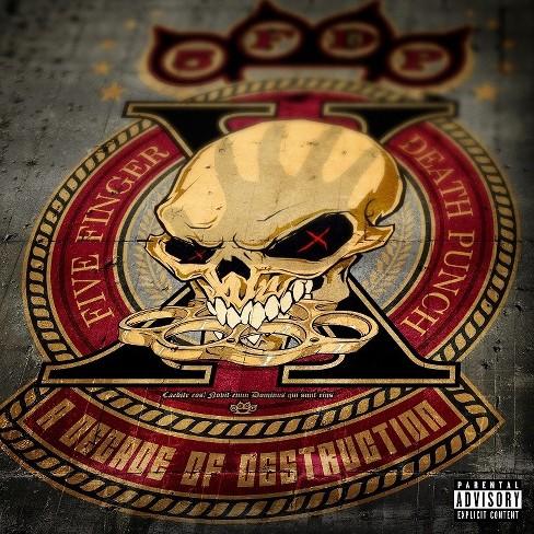 Five Finger Death Punch - A Decade Of Destruction - image 1 of 1