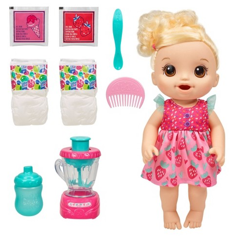 Baby Alive Magical Mixer Baby Doll - Strawberry Shake - image 1 of 4
