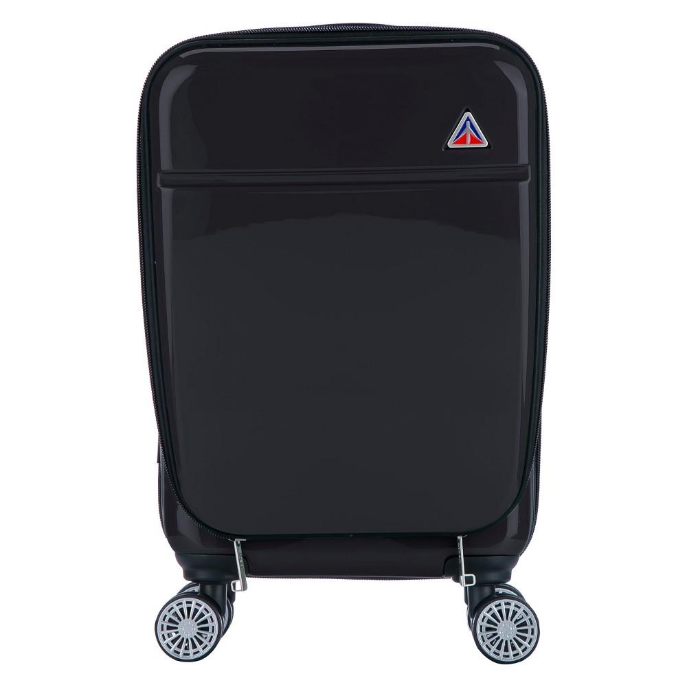 "Image of ""InUSA Avila 20"""" Hardside Spinner Suitcase - Black"""