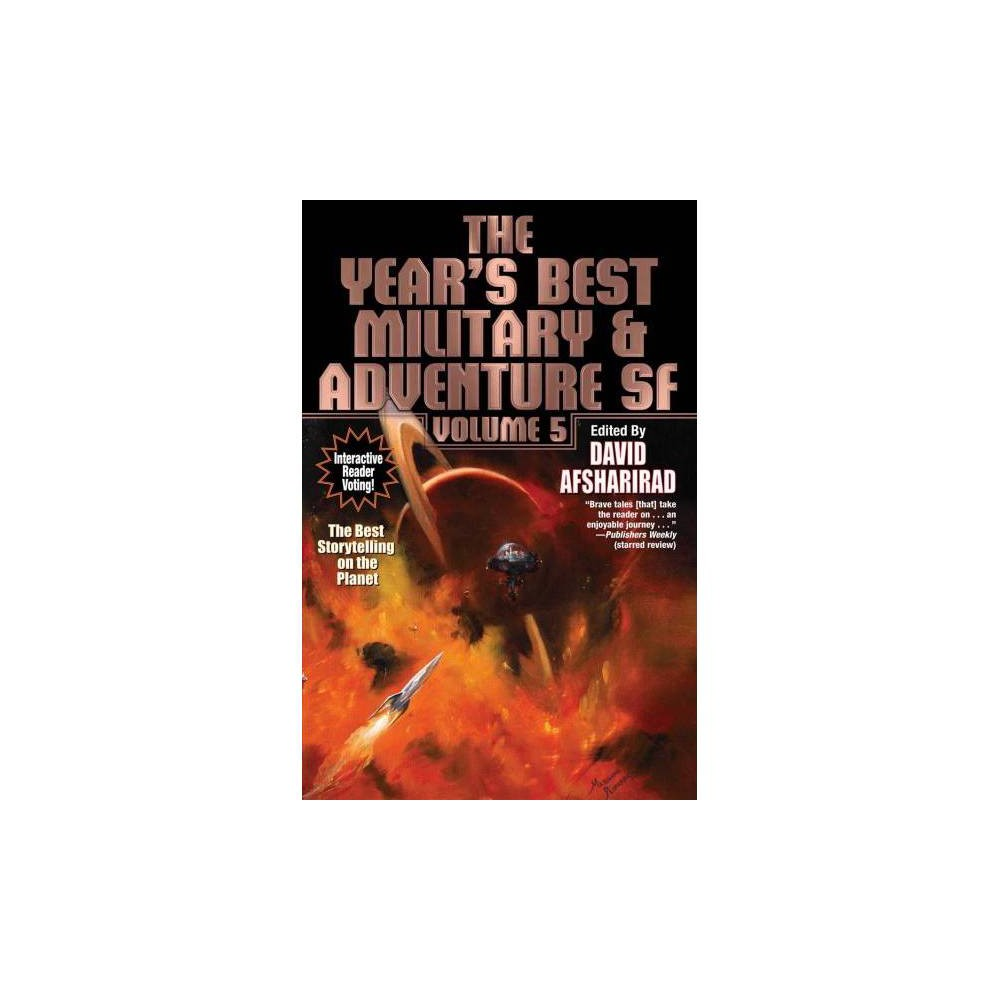 Year's Best Military & Adventure SF - (Year's Best Military & Adventure SF) (Paperback)