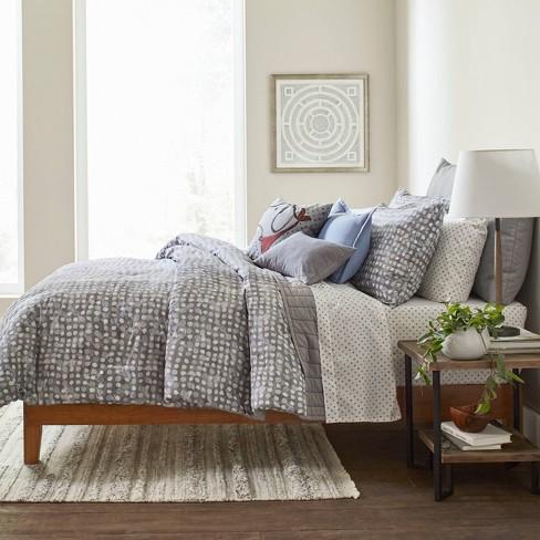 Ed By Ellen Degeneres Soledad Comforter, Blue Gray Bedding