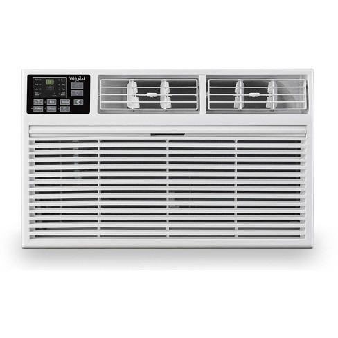 Whirlpool 14,000 BTU 230V Through the Wall Air Conditioner with 10,600 BTU Supplemental Heating - image 1 of 4