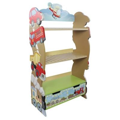 Transportation Fantasy Fields Bookshelf - Teamson Kids