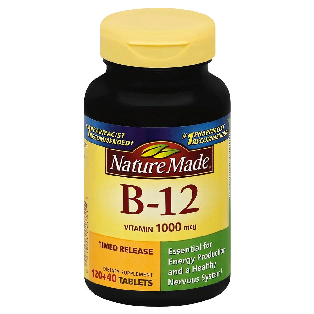Nature Made B12 Tablets -160ct
