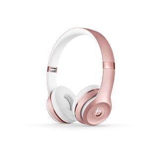 Beats Solo³ Wireless On-Ear Headphones - Rose Gold